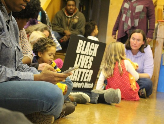 """Mommy, what does that Black Lives Matter sign mean?"""