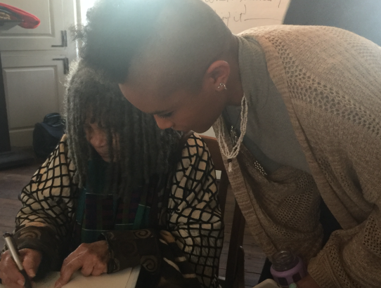 Finding Peace with Sonia Sanchez by Doriana Markovitz