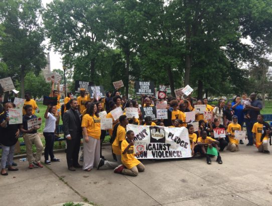 7th Graders at Lea Elementary School March Against Gun Violence